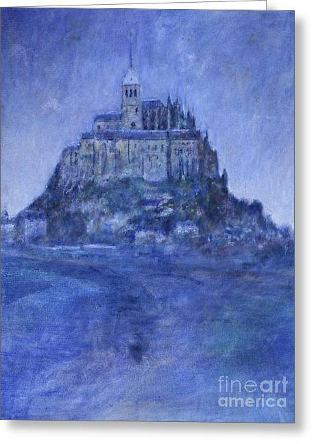Mont St Michel Greeting Card by Andy  Mercer