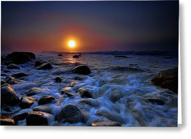 Points Greeting Cards - Montauk Point IV Greeting Card by Rick Berk