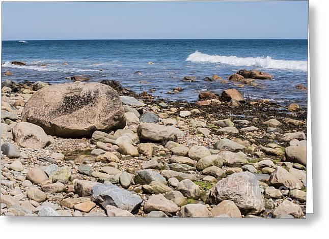 York Beach Greeting Cards - Montauk Point No. 2 Greeting Card by John Greco