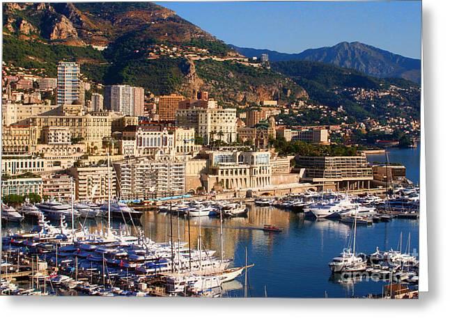 Monte Carlo Greeting Card by Tom Prendergast