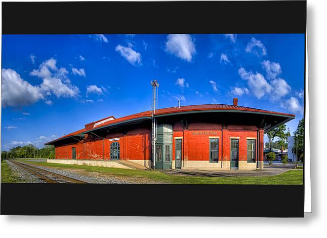Montezuma Depot - Classic Queen Anne Greeting Card by Mark E Tisdale
