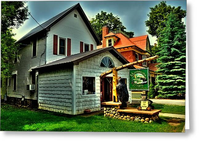 Montezuma Greeting Cards - Montezuma Winery in Old Forge NY Greeting Card by David Patterson