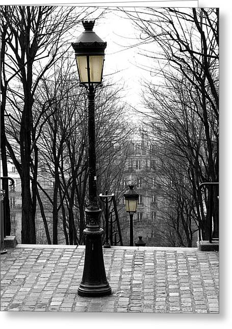 Diana Haronis Greeting Cards - Montmartre Greeting Card by Diana Haronis