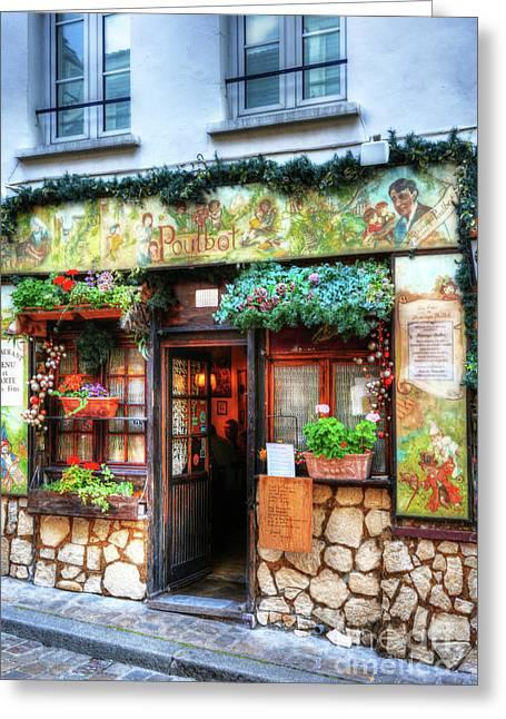 Montmartre In Paris 2 Greeting Card by Mel Steinhauer
