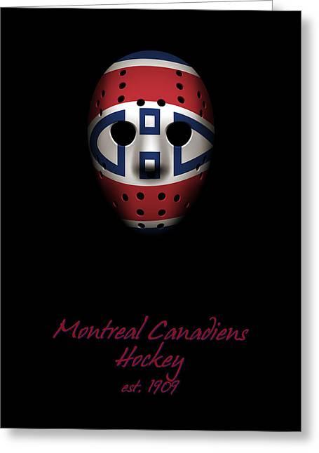 Montreal Canadiens Established Greeting Card by Joe Hamilton