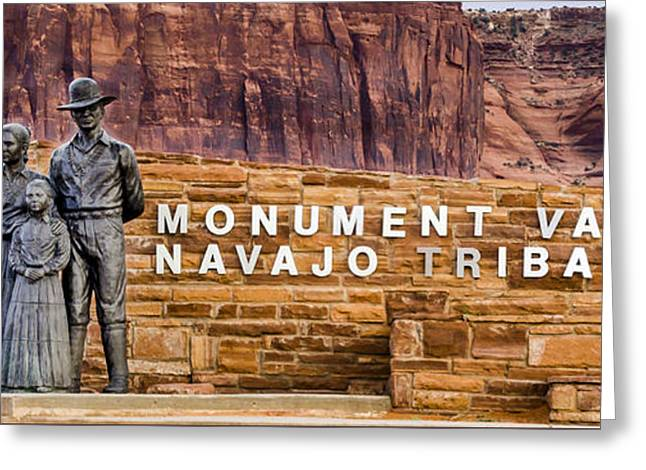 The Plateaus Greeting Cards - Monument Valley - Navajo Tribal Park - Arizona Greeting Card by Jon Berghoff