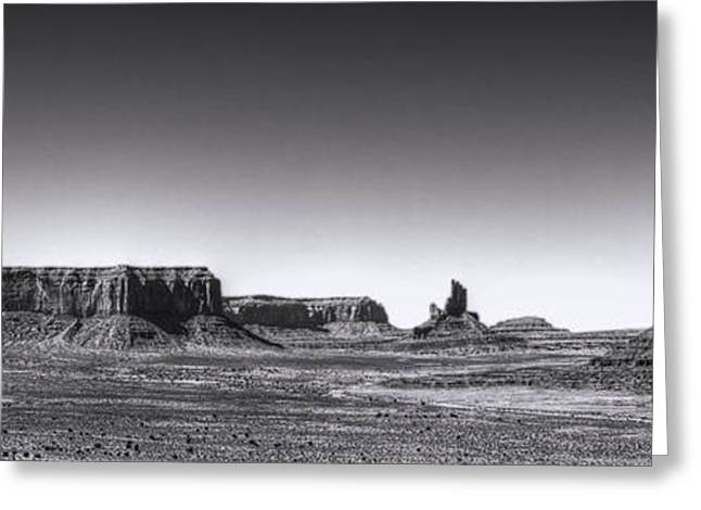 Satisfaction Greeting Cards - Monument Valley View from Artists Point Greeting Card by Roger Passman