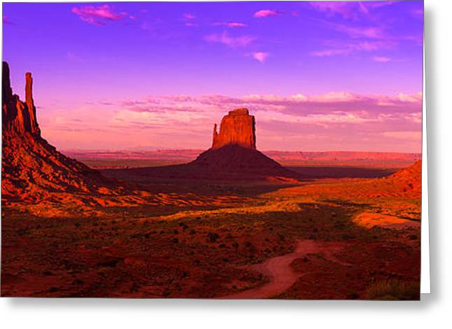 Monumental Greeting Card by Mikes Nature