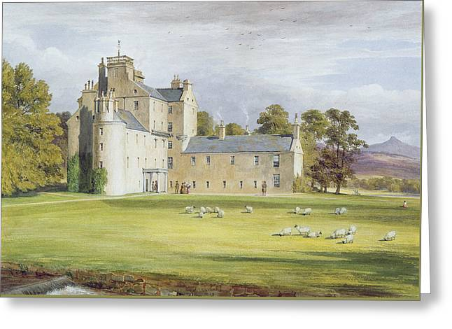 Monymusk House Greeting Card by James Giles