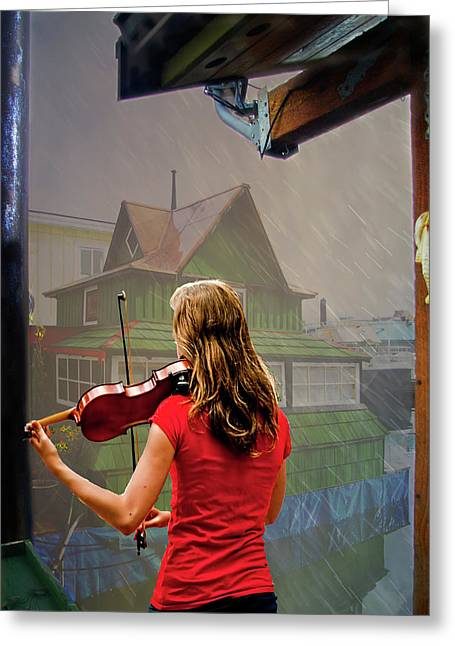 Cs5 Greeting Cards - Mood Music Greeting Card by Dale Stillman