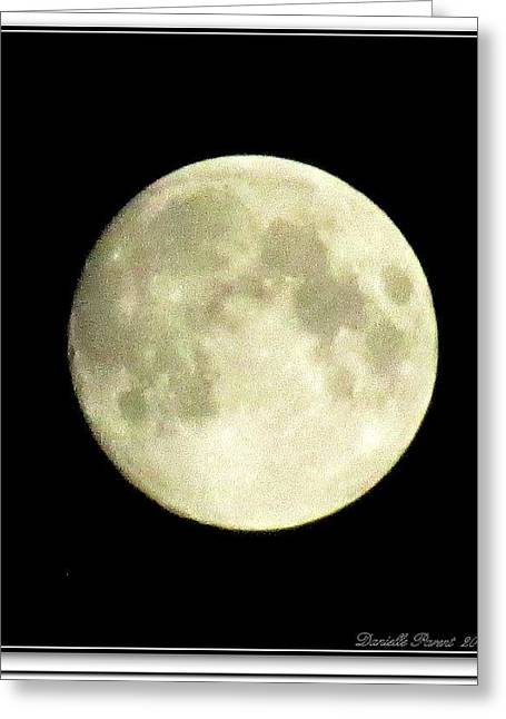 Museum Quality Greeting Cards - Moonlight  2nd Attempt  Greeting Card by Danielle  Parent