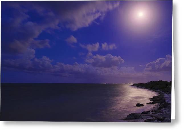 Moonlight Sonata Greeting Card by Chad Dutson