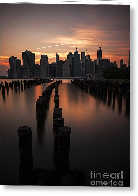 Unique View Greeting Cards - Mooring Eve Greeting Card by Andrew Paranavitana