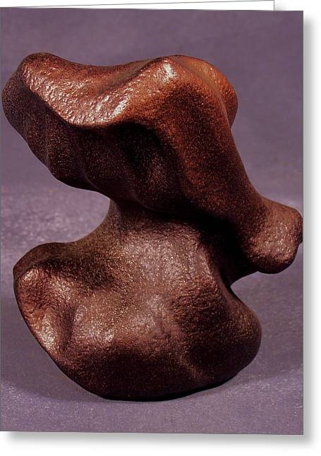 Abstract Forms Sculptures Greeting Cards - Moorish Greeting Card by Lonnie Tapia