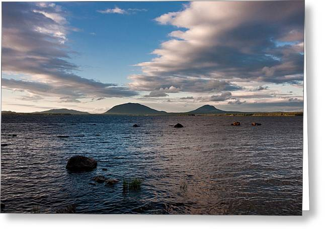 Brent L Ander Greeting Cards - Moosehead Lake Spencer Bay Greeting Card by Brent L Ander