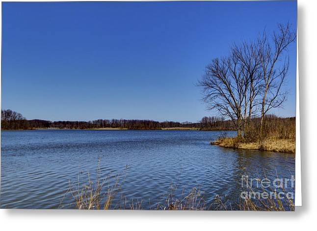 Colorful Cloud Formations Greeting Cards - Moraine View State Park Greeting Card by Alan Look