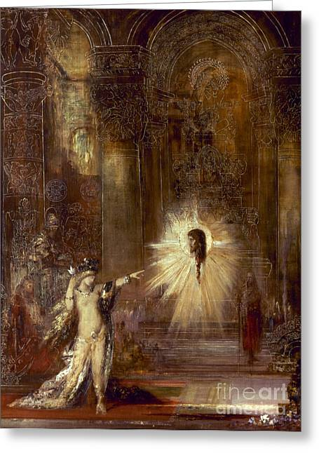 Moreau: Apparition, 1876 Greeting Card by Granger