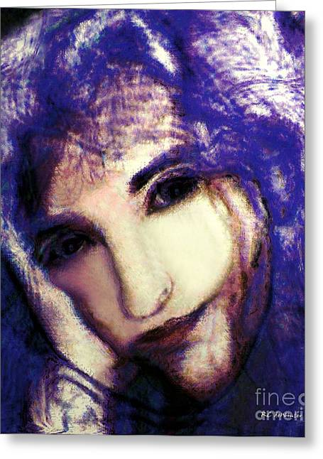 Morgan Le Fay Greeting Cards - Morgaine le Fay Greeting Card by RC deWinter