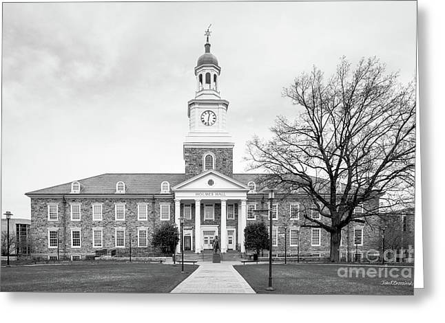 Md Greeting Cards - Morgan State University Holmes Hall Greeting Card by University Icons
