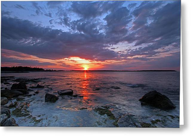 Coastal Maine Greeting Cards - Morning Adventure Greeting Card by Juergen Roth