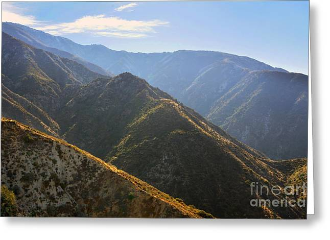 Helicopter Photographs Greeting Cards - Morning Air Greeting Card by Dan Holm