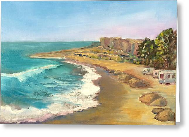 Clemente Greeting Cards - Morning at Churchs Greeting Card by Marilyn Froggatt