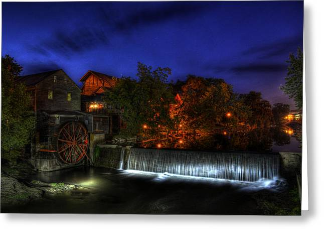 Tennessee River Greeting Cards - Morning At Old Mill Greeting Card by Greg and Chrystal Mimbs