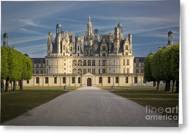 Francis Greeting Cards - Morning Chateau Greeting Card by Brian Jannsen