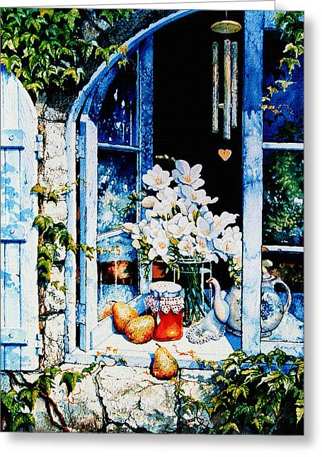 Morning Delight Greeting Card by Hanne Lore Koehler