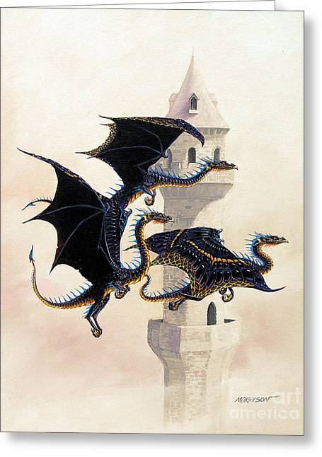 Morning Flight Greeting Card by Stanley Morrison