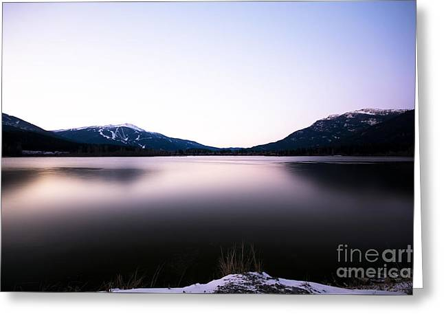 Scenic Greeting Cards - Morning Frost Greeting Card by Jon Olmstead