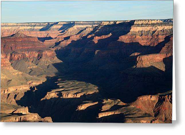 The Grand Canyon Greeting Cards - Morning Glow at the Grand Canyon Greeting Card by Pierre Leclerc Photography