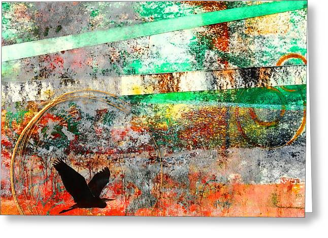 Morning Has Broken Greeting Card by Carol Leigh