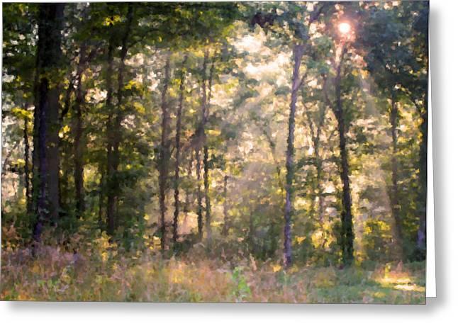 Morning Has Broken Greeting Card by Kristin Elmquist