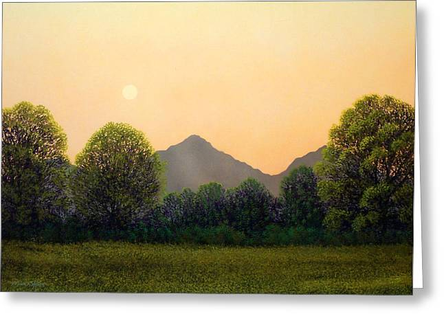 Pacific Crest Trail Greeting Cards - Morning Light Greeting Card by Frank Wilson