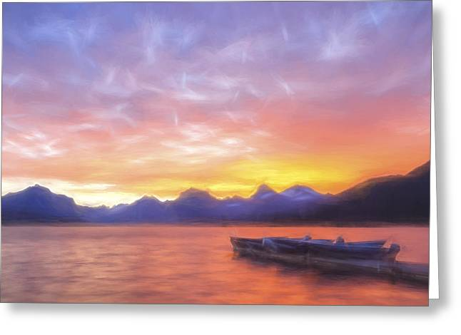 Morning Light IIi Greeting Card by Jon Glaser