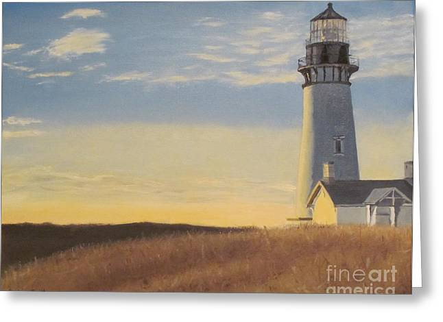 Morning Light Greeting Card by Jackie Nutter