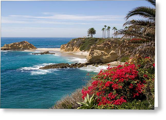 California Beaches Greeting Cards - Morning Light Montage Resort Laguna Beach Greeting Card by Cliff Wassmann