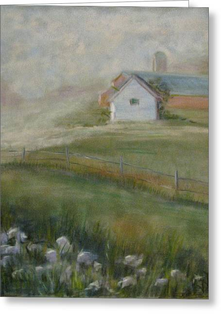 Morning Mercy Greeting Card by Wendie Thompson