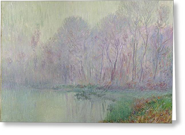 Morning Mist Greeting Card by Gustave Loiseau