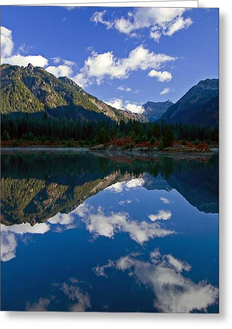 Pond Photographs Greeting Cards - Morning Musings Greeting Card by Mike  Dawson