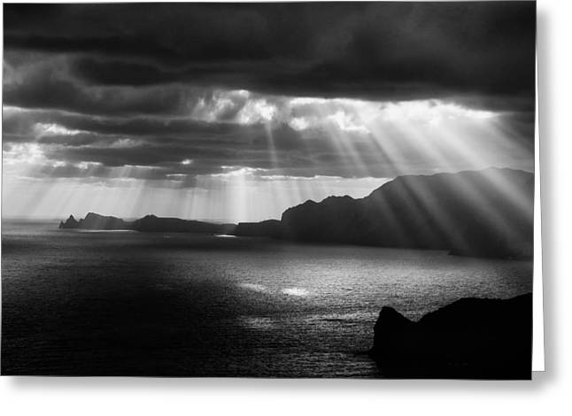Light Rays Greeting Cards - Morning Rays Greeting Card by Andre Gehrmann