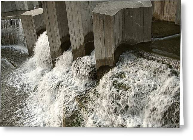 Stepping Stones Greeting Cards - Morning Rush Hour Greeting Card by Scott Hovind