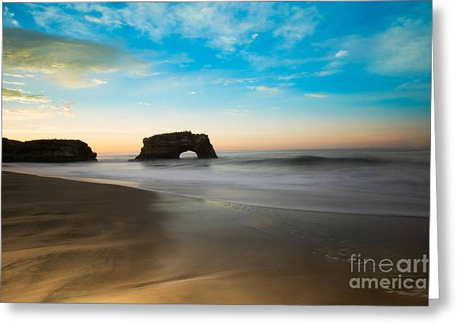 Scenic Greeting Cards - Morning Silk Greeting Card by Jon Olmstead