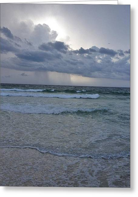 Summer Squall Greeting Cards - Offshore Greeting Card by Brian Long