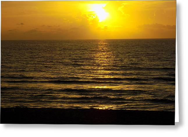 Beach Photography Greeting Cards - Morning Sun And The Atlantic Greeting Card by William Tasker