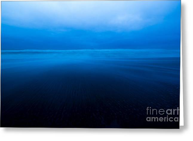 Scenic Greeting Cards - Morning Swell Greeting Card by Jon Olmstead