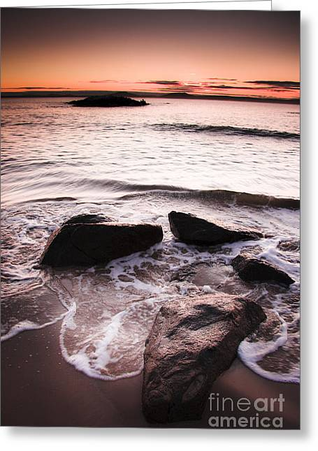 Morning Tide Greeting Card by Jorgo Photography - Wall Art Gallery