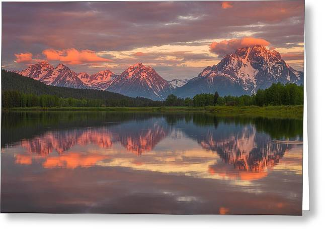 Sunrise Greeting Cards - Morning Tranquillity  Greeting Card by Darren  White