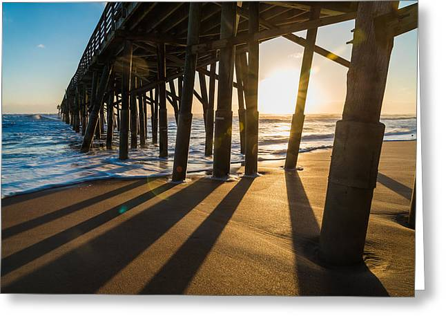 Morning Views Greeting Card by Kristopher Schoenleber
